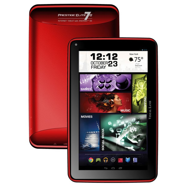 "Visual Land Prestige Elite 7Q 8 GB Tablet - 7"" - Wireless LAN - ARM C"
