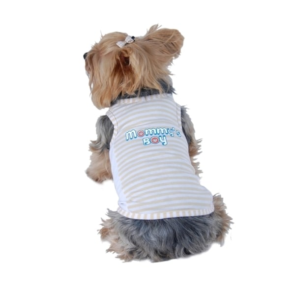 Insten Summer Pet Puppy Dog Pet Logo Clothes Vest Apparel