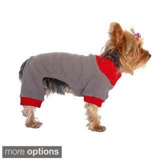 Small Dog Fleece Jumpsuit Pajamas