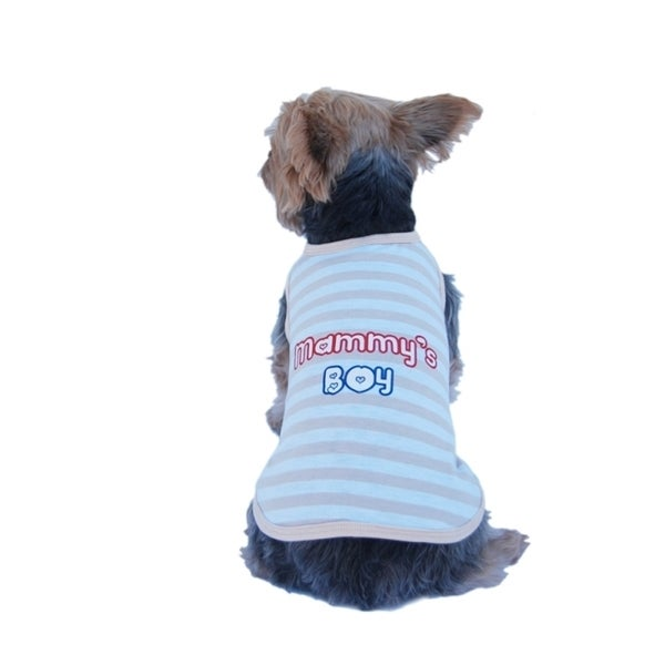 Insten Pet Puppy Dog Clothes Stripe T Shirt Dress Costumes Apparel