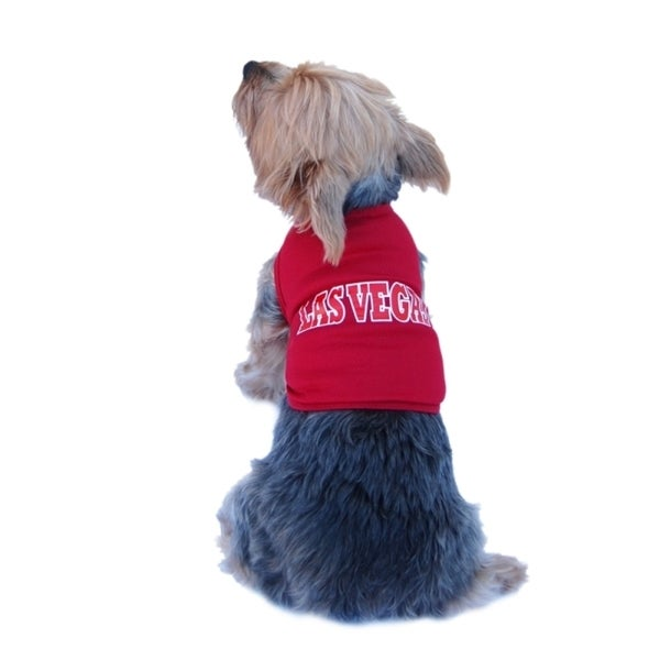 Insten Pet Dog Puppy Clothes Ultra Soft Cotton Las Vegas Jersey Tee T-Shirt