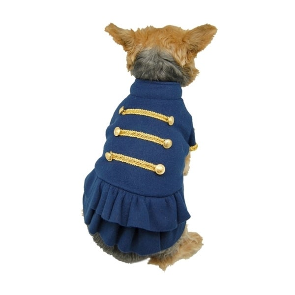Insten Navy Sailor's Dog Fleece Marching Dress