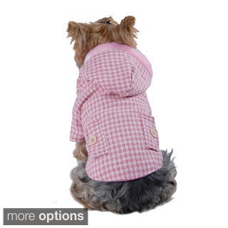 Insten Houndstooth Dog Jacket