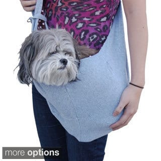Blue Denim Sling Style Pet Carrier