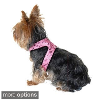 Insten Dog Puppy Pet Sparkle Shine Harness Clothes - Leash included