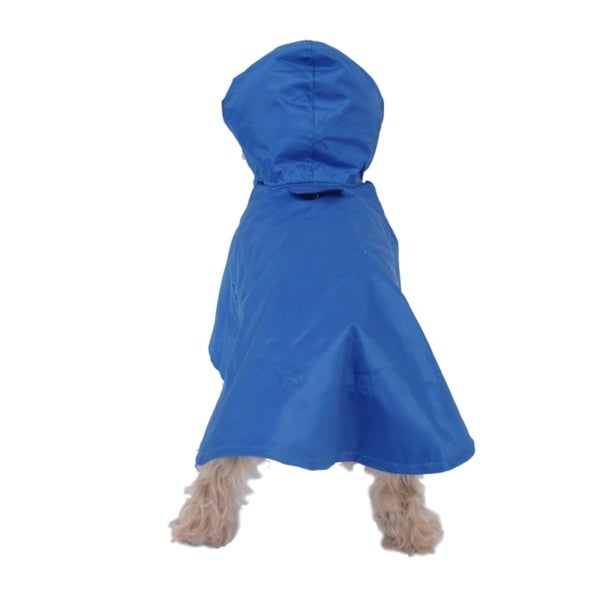 Insten All Weather Casual Windbreaker hooded Jacket coat for Dogs pet puppy