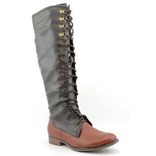 Rocket Dog Women's 'Barker' Faux Leather Boots (Size 9.5 )