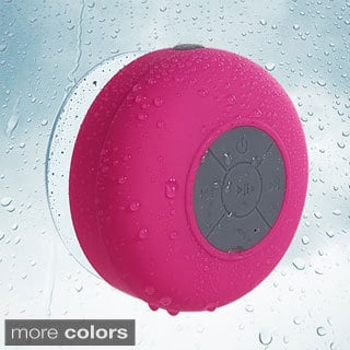 INSTEN Water Proof Resistant Bluetooth Portable Compact Wireless Stereo Speaker
