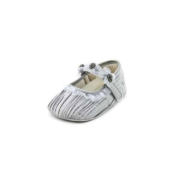 Designer's Touch Girl (Infant) 'McKayla' Satin Casual Shoes (Size 2 )