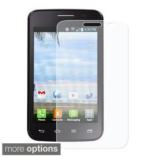 BasAcc Clear Scratch Free LCD Screen Protector for LG Optimus Dynamic 2 L39c