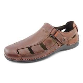 Rockport Men's 'Popinac Chili' Leather Sandals (Size 10 )