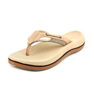 Sperry Top Sider Boy (Youth) 'Bluefish Thong' Leather Sandals (Size 3 )