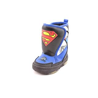 Superman Boy (Toddler) 'Superman Light Up Boot' Synthetic Boots (Size 6 )