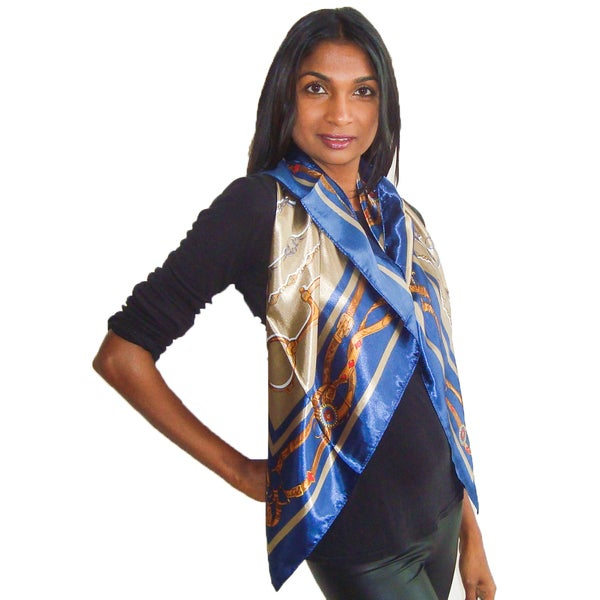 Spanish Style Square Fashion Scarf