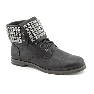 Michael Kors Women's 'Rock N Roll Boot' Leather Boots (Size 8.5 )