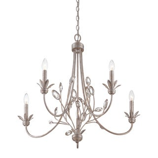 Wesley 5-light Italian Fresco Chandelier