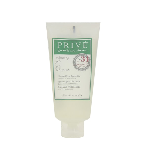 Prive Herbal Blend 34 Relaxing 6-ounce Hair Gel