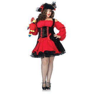Leg Avenue Women's Plus Size 'Vixen Pirate Wench' Corset Dress
