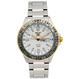Seiko 5 Men's SRP438 Automatic Stainless Steel Watch