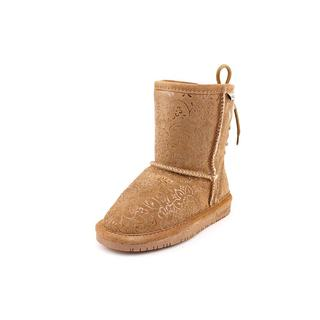 Bearpaw Girl (Youth) 'Ellie' Regular Suede Boots