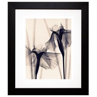McMillan 'Japanese Iris' Framed Artwork