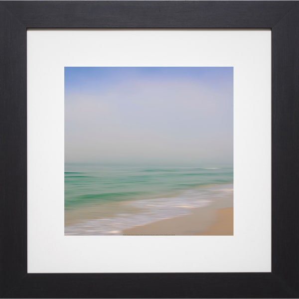 Rowell 'Seacoast 184' Framed Artwork