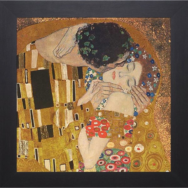 Klimt 'The Kiss' Framed Artwork