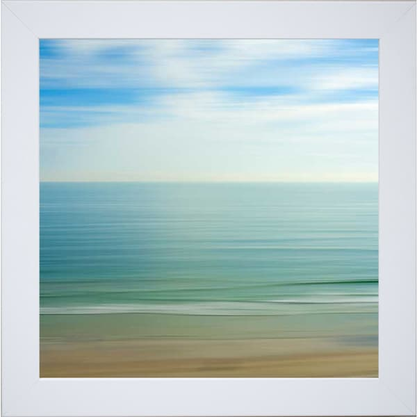 Rowell 'Seacoast 17' Framed Artwork 13856606