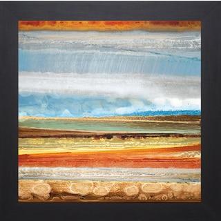 Rodriguez 'Earth Layers II' Framed Artwork