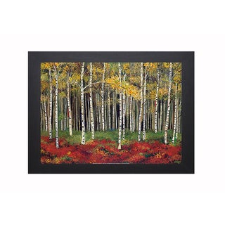Kenarov 'Aspen Forest' Framed Artwork