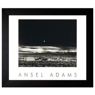 Adams, Ansel 'Moonrise, Herandez' Framed Artwork