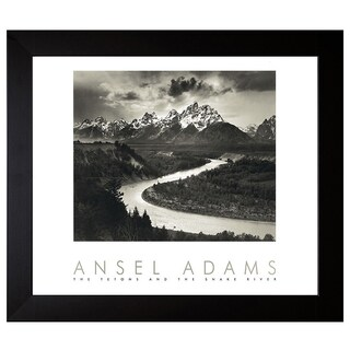 Adams, Ansel 'Snake River ' Framed Artwork