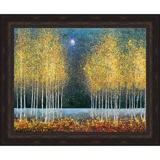 Graves-Brown 'Blue Moon' Framed Artwork