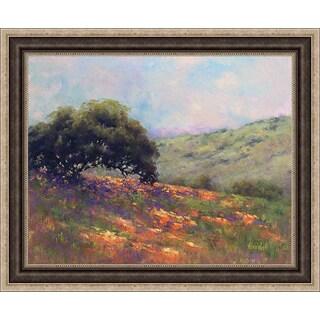 Weil 'Poppy Hill' Framed Artwork
