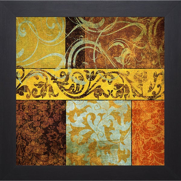 Elizabeth Medley 'Harmonic Melody II' Framed Artwork