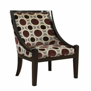 Oh! Home Zara High Back Accent Chair