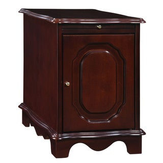 Powell Heirloom Cherry Magazine Cabinet Table
