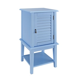 Powell Ocean Blue Shutter-door Table