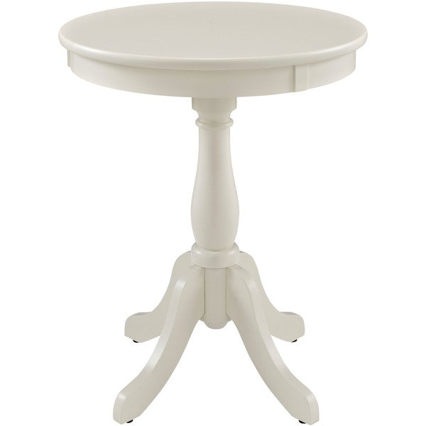 Powell Round White Table