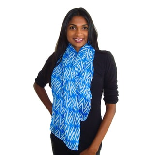 Geometric Diamond Design Fashion Scarf