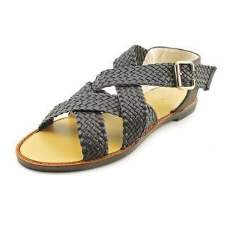 All Black Women's 'Belted Sandal' Leather Sandals