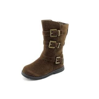 Balleto Girl (Toddler) 'Casey' Man-Made Boots (Size 9.5 )