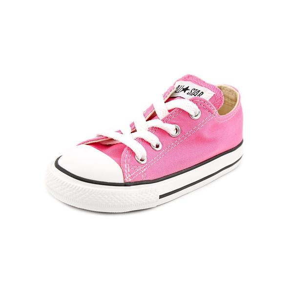 Converse Girl (Toddler) 'Yths C/T Allstar Ox' Basic Textile Athletic Shoe (Size 8 )