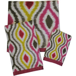 Waverly Optic Delight 3-piece Towel Set
