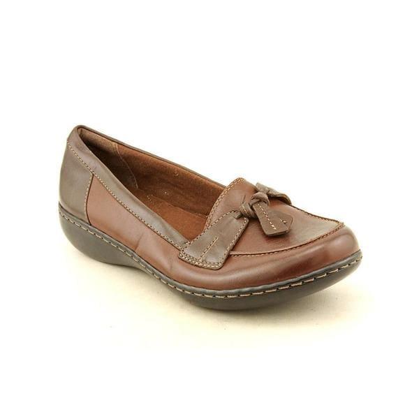 Clarks Women's 'Ashland Bubble' Leather Dress Shoes - Wide (Size 10 )