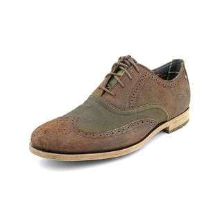Rockport Men's 'D2N Wing Tip' Regular Suede Dress Shoes