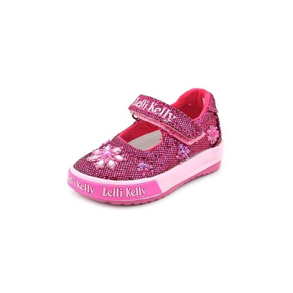 Lelli Kelly Girl (Infant) 'Jasmine V' Canvas Casual Shoes