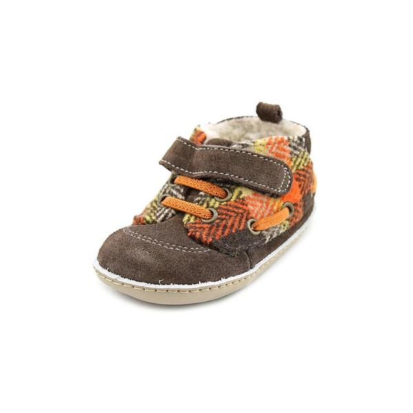 Robeez Boy (Infant) 'Ms Buffalo Bobby' Regular Suede Athletic Shoe