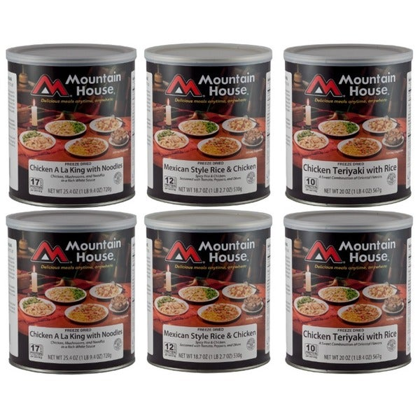 Mountain House Freeze-dried Chicken Favorites