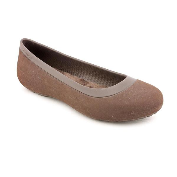 Crocs Women's 'Mammoth Flat' Synthetic Casual Shoes (Size 7 )